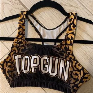 Top Gun Adult Small Sports Bra